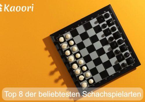 beliebtesten Schachspielarten