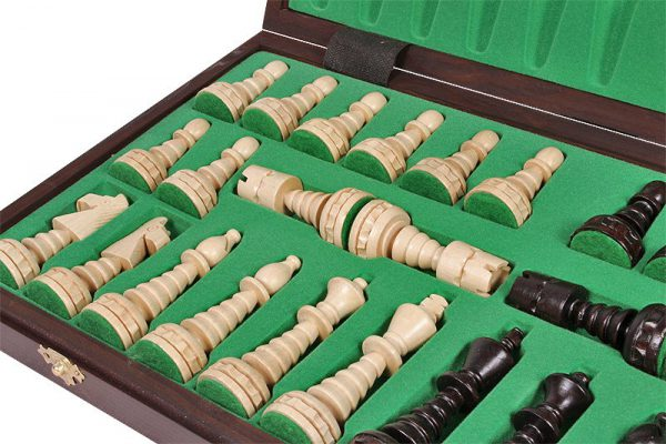 christmas mini chess set