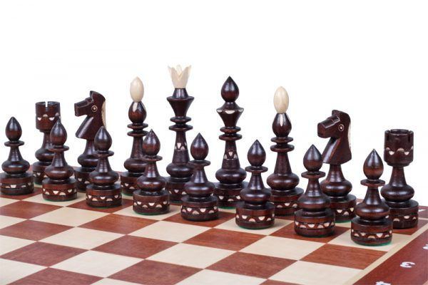 chess set light indian