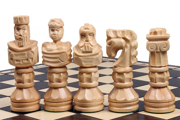 gladiator chess wooden