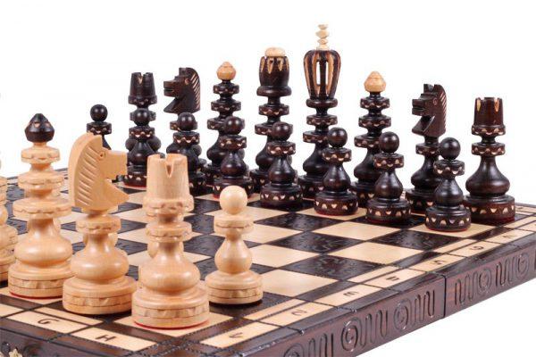 roman chess set 19 inch