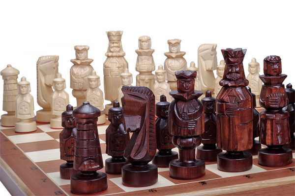 royal chess set spanish