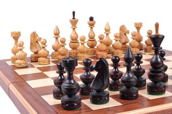 folding chess set debiut