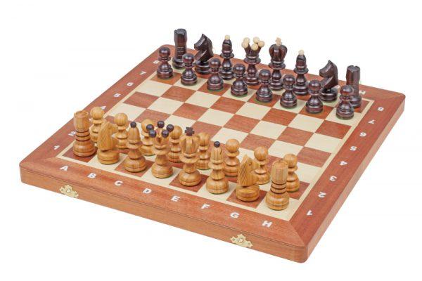 inlaid chess set