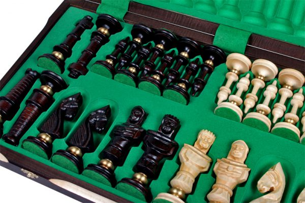 luxury chess set wooden