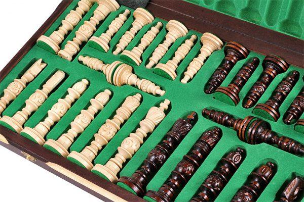 handmade galant chess set