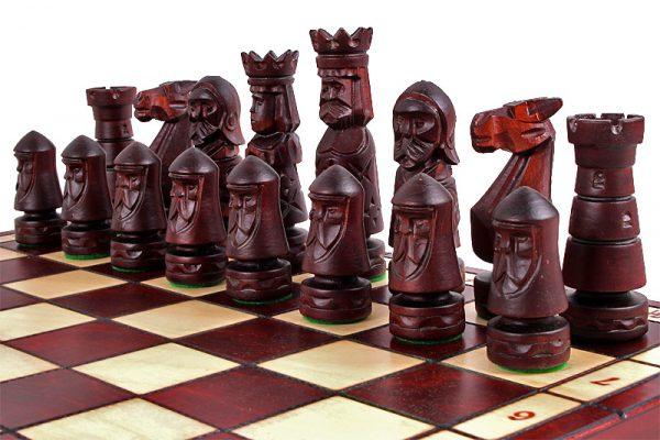 folding ancient chess set
