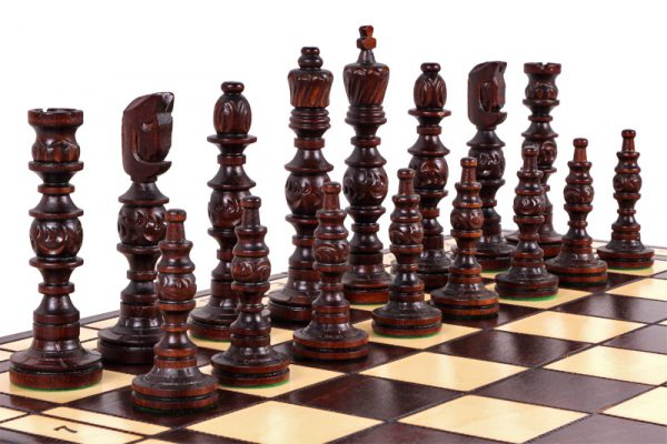 wooden galant chess set