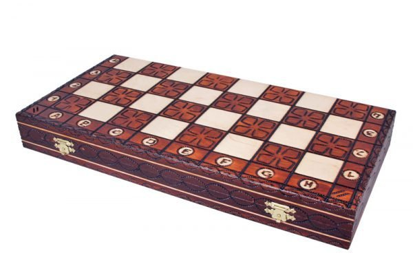 junior wooden chess set