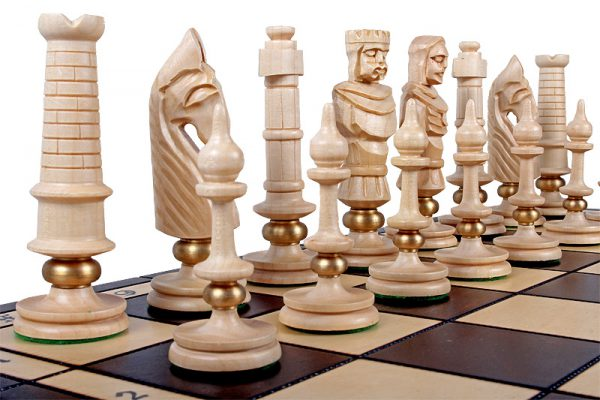 lux chess set royal