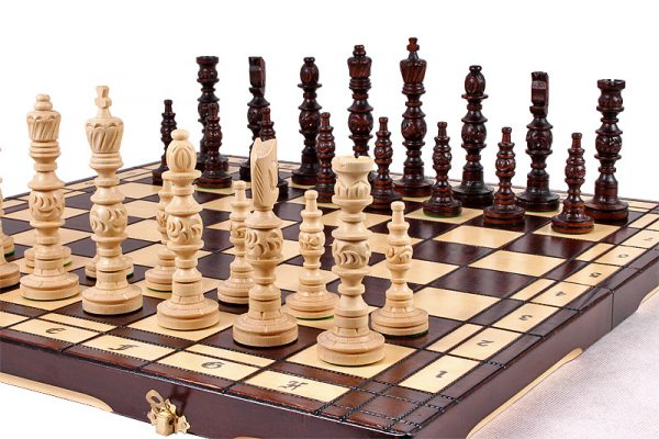 galant chess set wooden