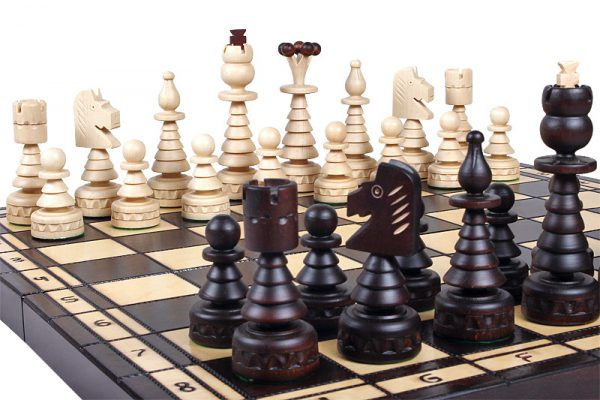 christmas chess set handmade