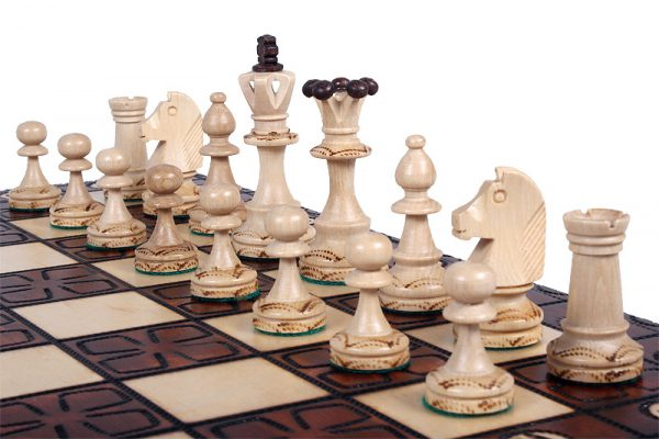 wooden chess set junior