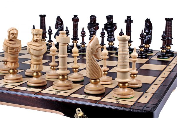 lux chess set 25 inch