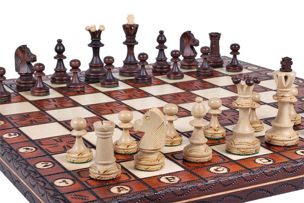 handmade chess set junior