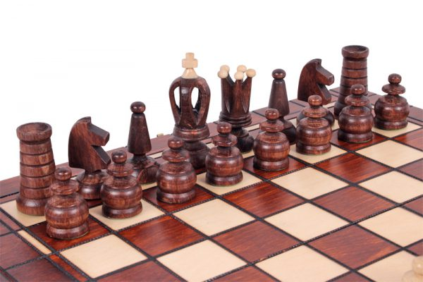 13 inch chess set handmade wooden