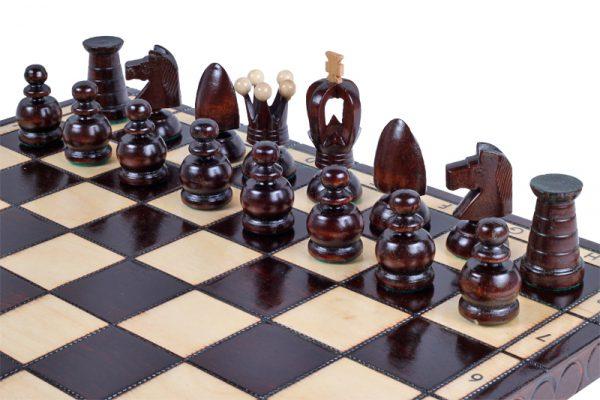 handmade king chess set wooden