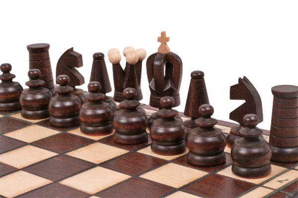 mini chess set handmade
