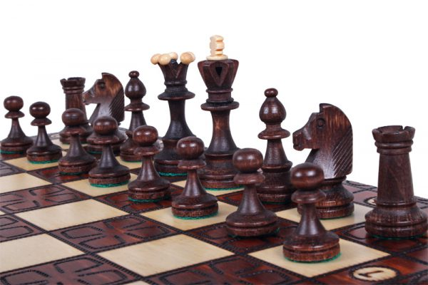 chess set junior wooden