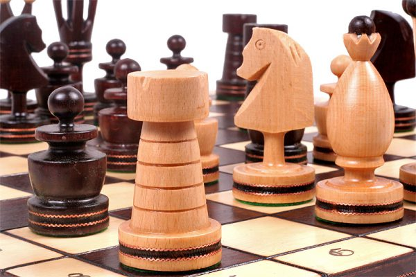 gothic chess set 20 inch