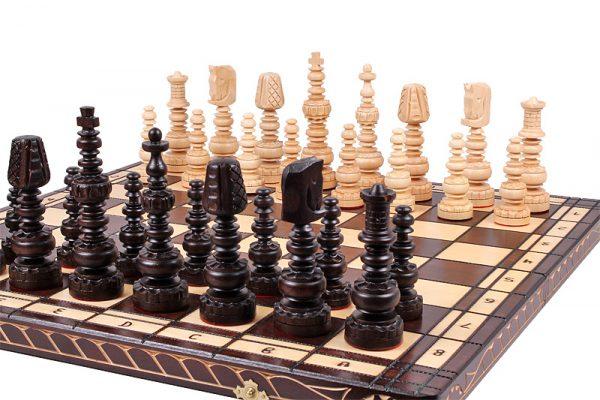folding chess set mars handmade