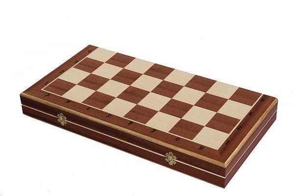 folding castle chess set