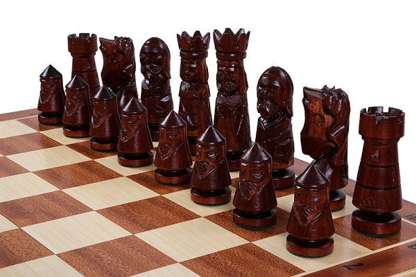 24 inch chess set castle