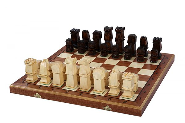 wooden chess set orawa folding