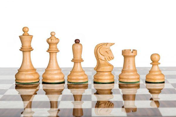 Schachfiguren Dubrovnik Royal 10.16 cm