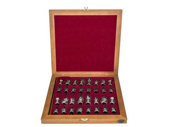 unique luxury chess set