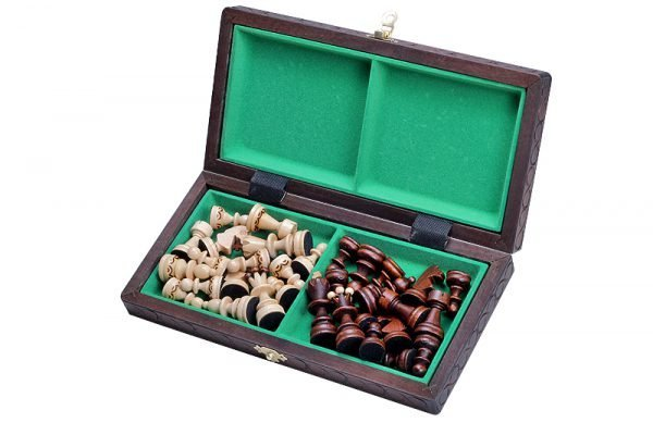 wooden chess set paris