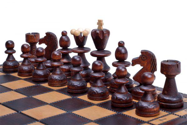 handmade chess set paris wooden