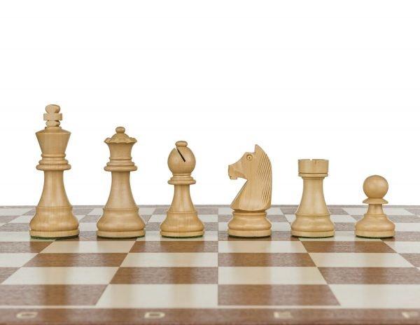 staunton standard wooden chess pieces