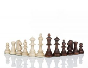 tournament chess pieces