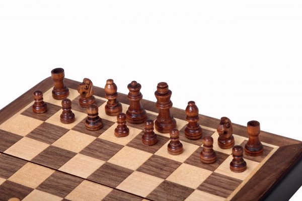 handmade magnetic chess set