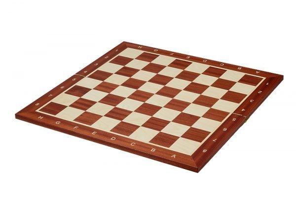 mahogany sycamore folding chessboard