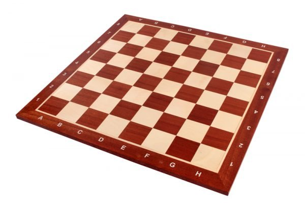 solid wooden chess board