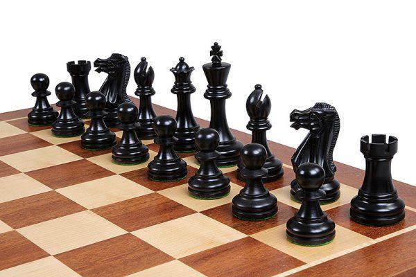 wooden executive chess pieces
