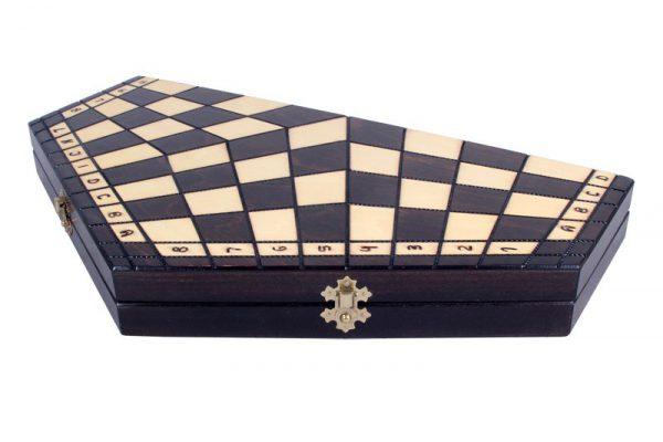 11 inch three player chess set