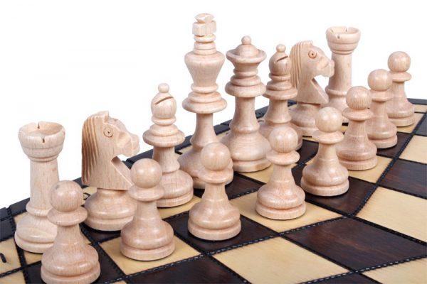 three player chess set folding