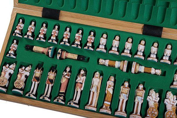 handmade chess set