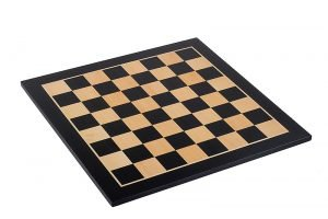 black mahogany chessboard
