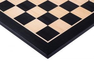 black mahogany chess board