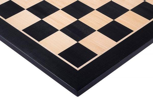 black mahogany chess board
