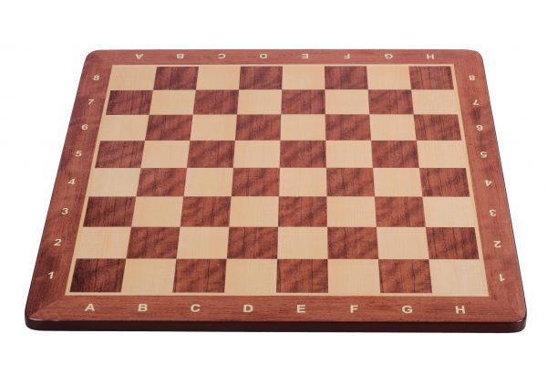 maple padauk chess board