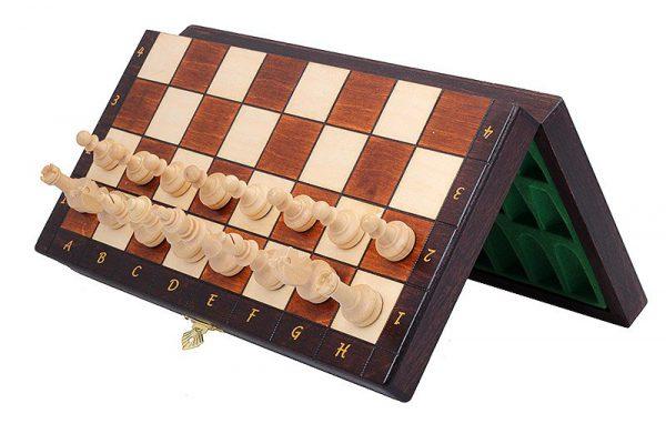 travel magnetic chess set