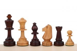 staunton chessmen cherry