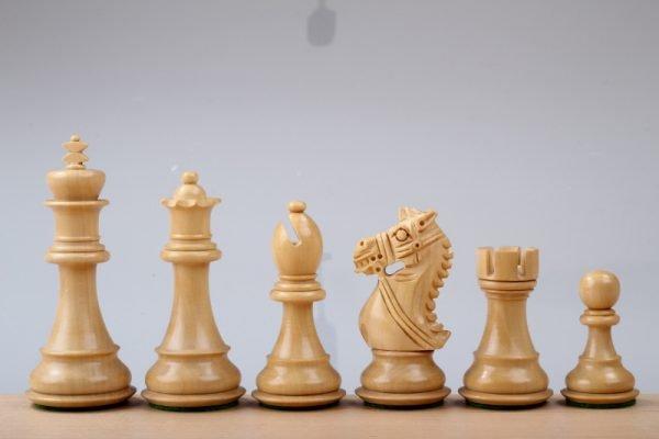 ebony kings chessmen