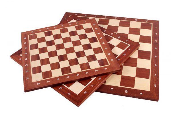 mahogany chessboard
