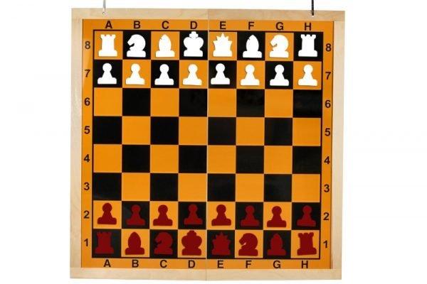 half folding chess set